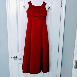 Girls Formal Red Dress